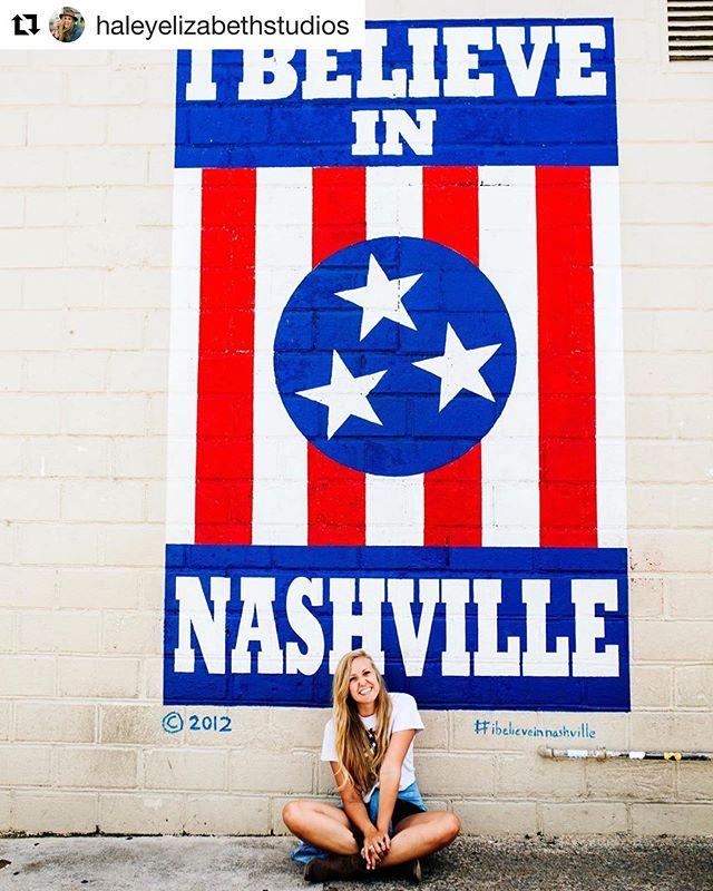 Now that's an #ibelieveinnashville smile! • • • #howellsalley #ibelieveinnashville #12south #12southnashville #12southnash #12southlove #615 #nashville #nashville_tn #nashvilletn #nashville #nashvillegram #nashvegas #smash #smashville #draperjames #nash #tennessee #musiccity #mural #art #weekendvibes #nashvillelove #ilovenashville