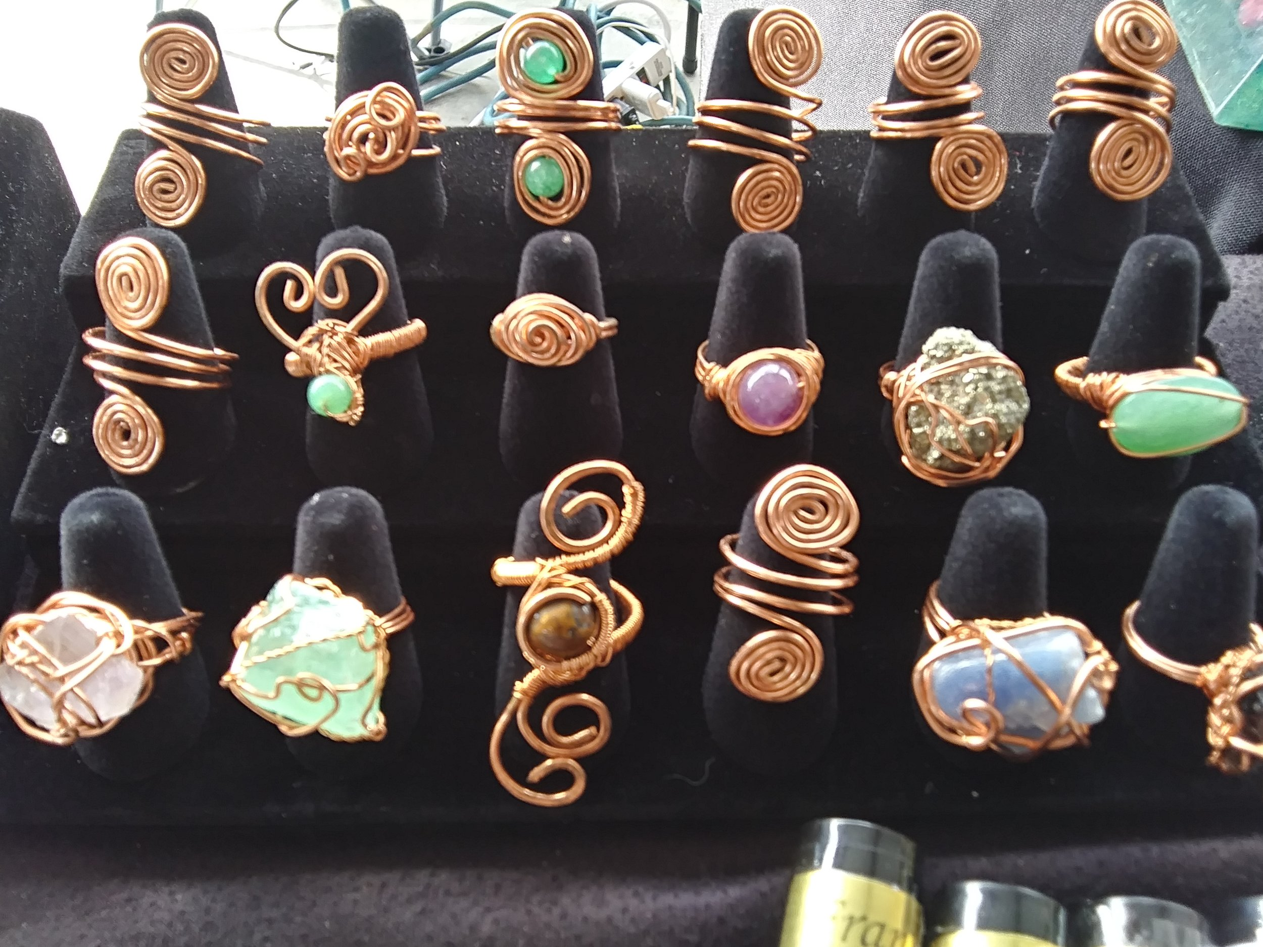 Hand Crafted Jewelry - Crystals , Rings, and Jewelry