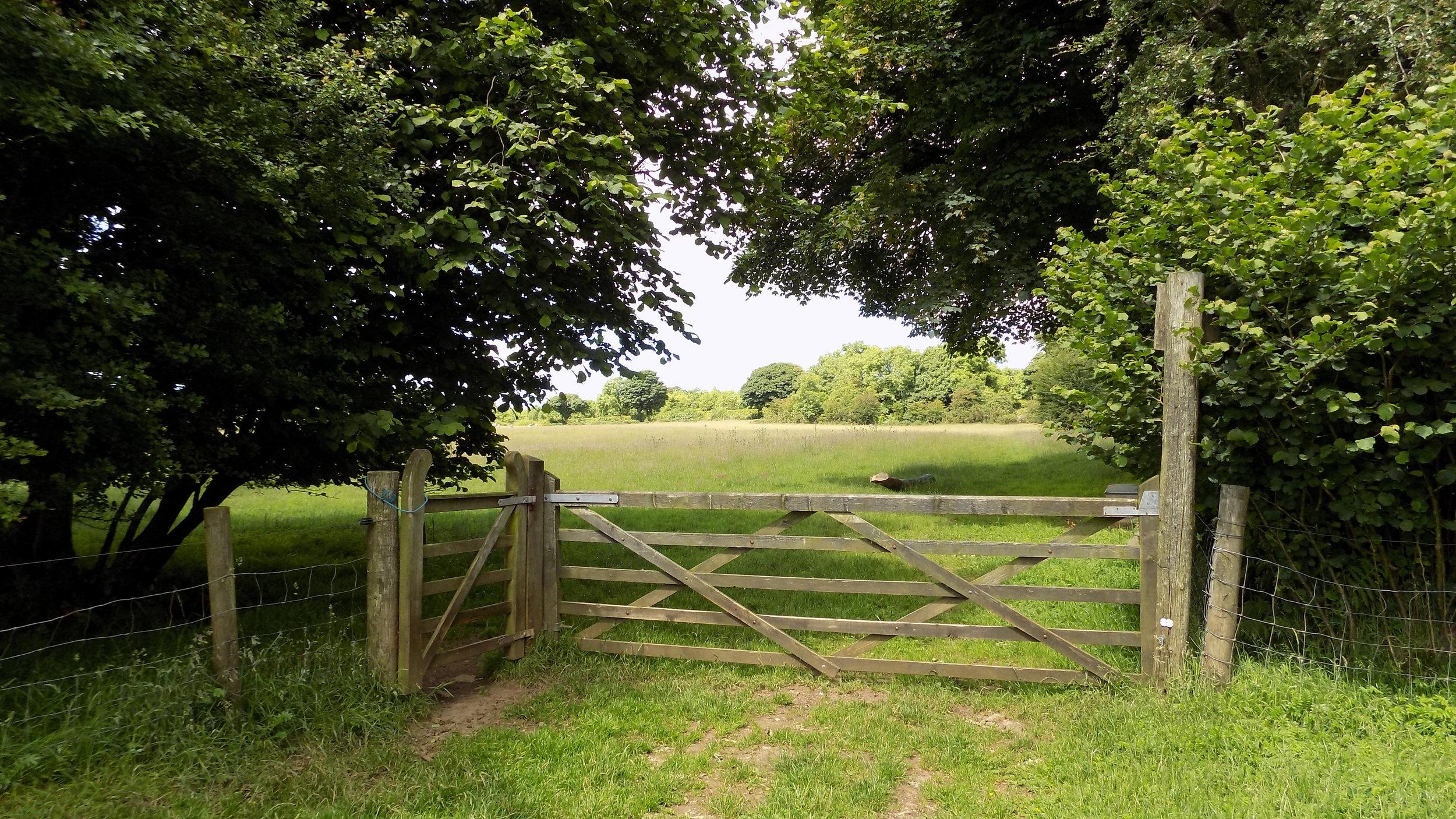 ceremony field gate.JPG