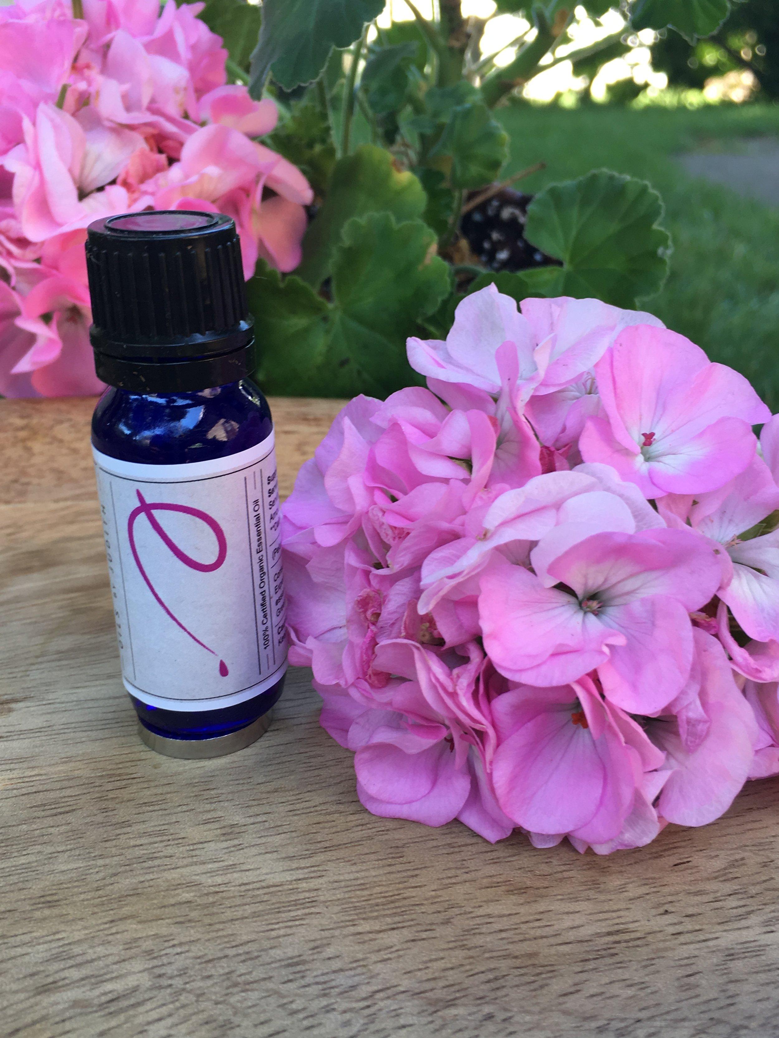 Rose geranium EO Pose.JPG