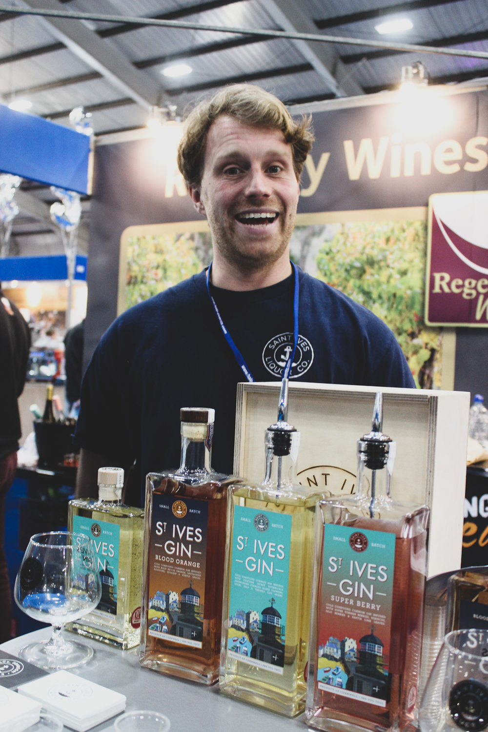 Cornish spirt and charm and samples that knock your socks off!  St Ives Gin