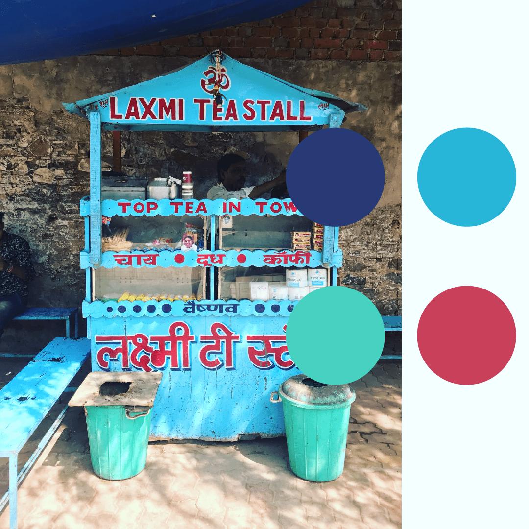 Sugar Cane Stand, Pushkar