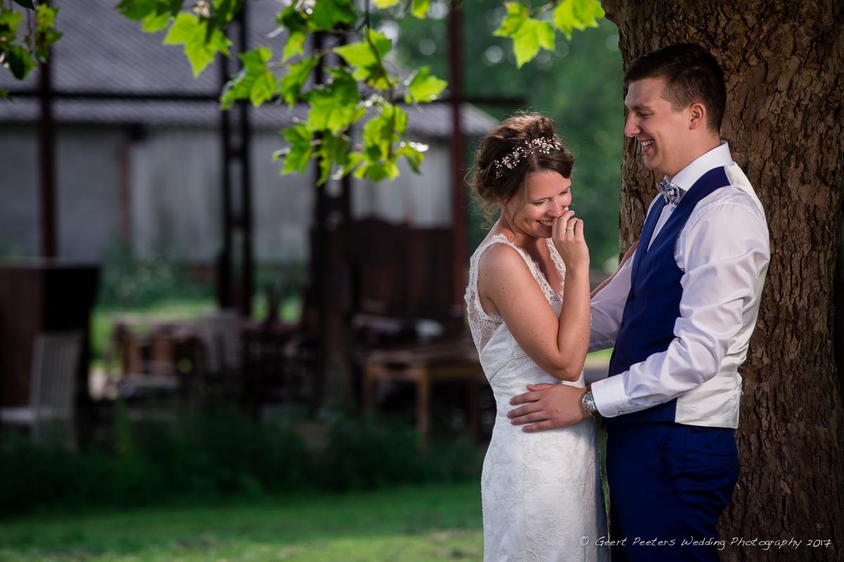 Hof ter Buecken Buggenhout trouw Annelies en Gilles foto