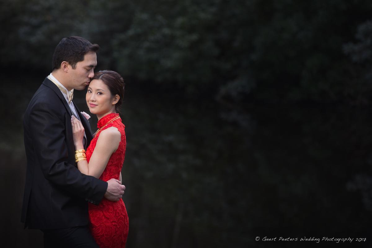 La Butte Aux Bois Lanaken trouw Emma en Nicky foto