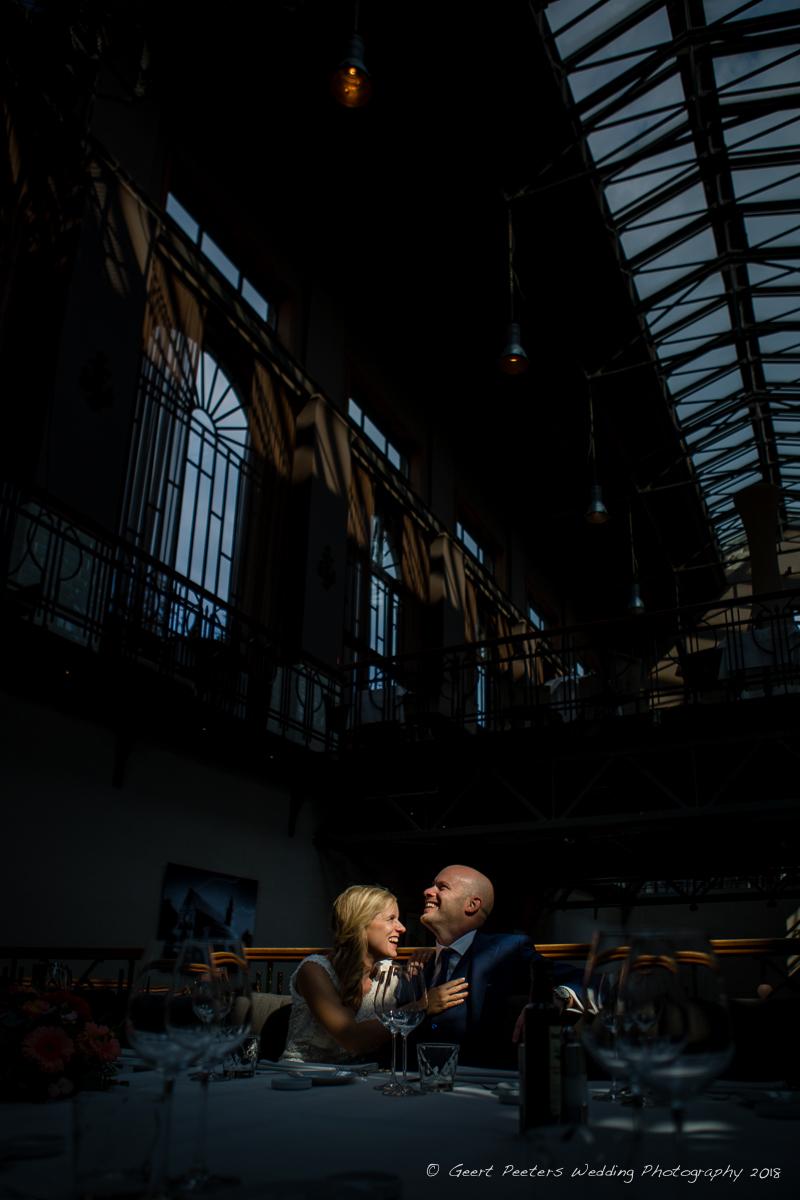 Pomphuis Antwerpen trouw shoot foto