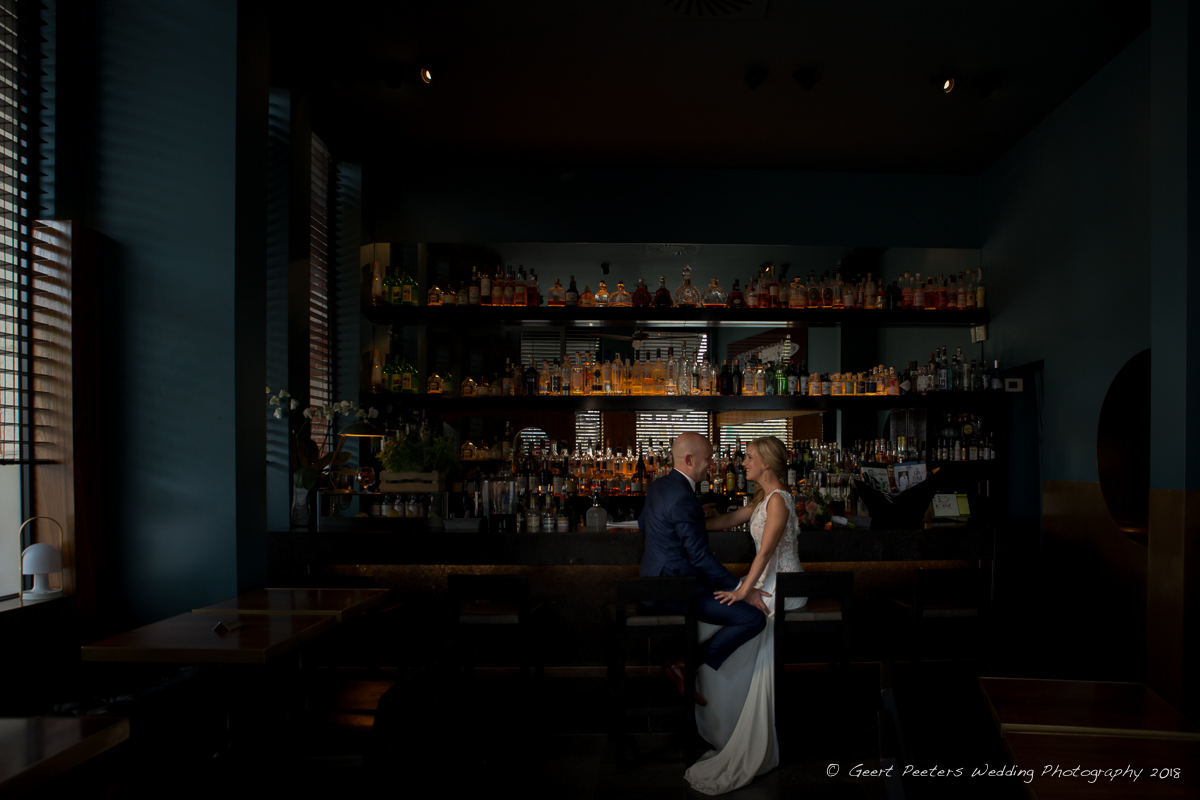 Bar Antwerpen trouw shoot foto