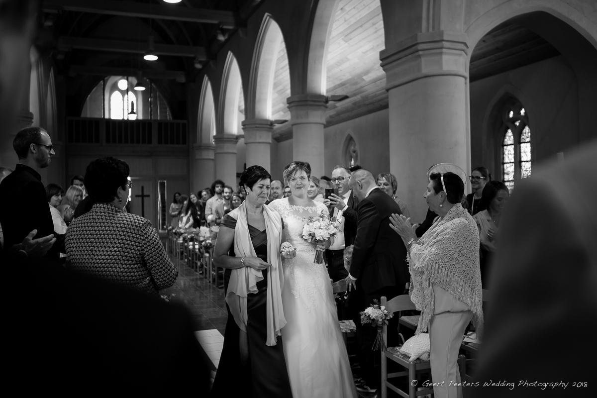 Oostende trouw ceremonie kerk foto