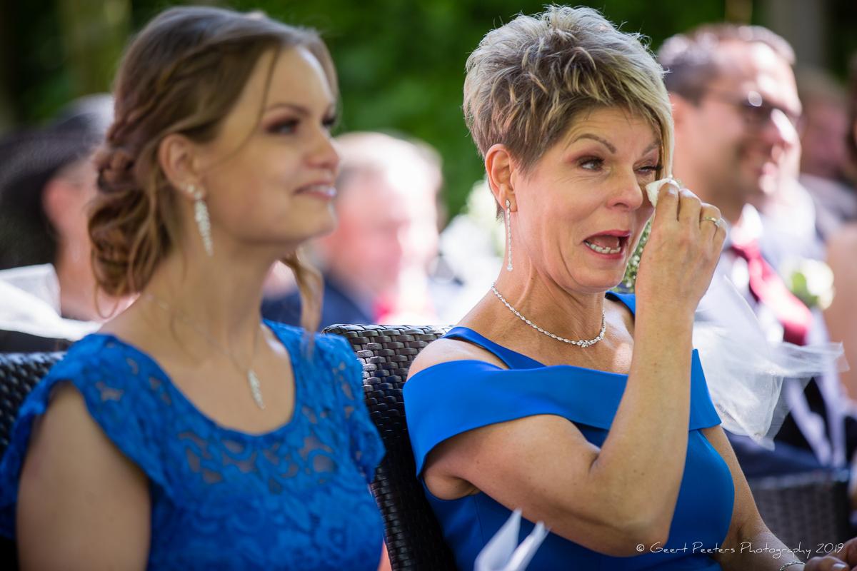 gasten huwelijk in buiten ceremonie