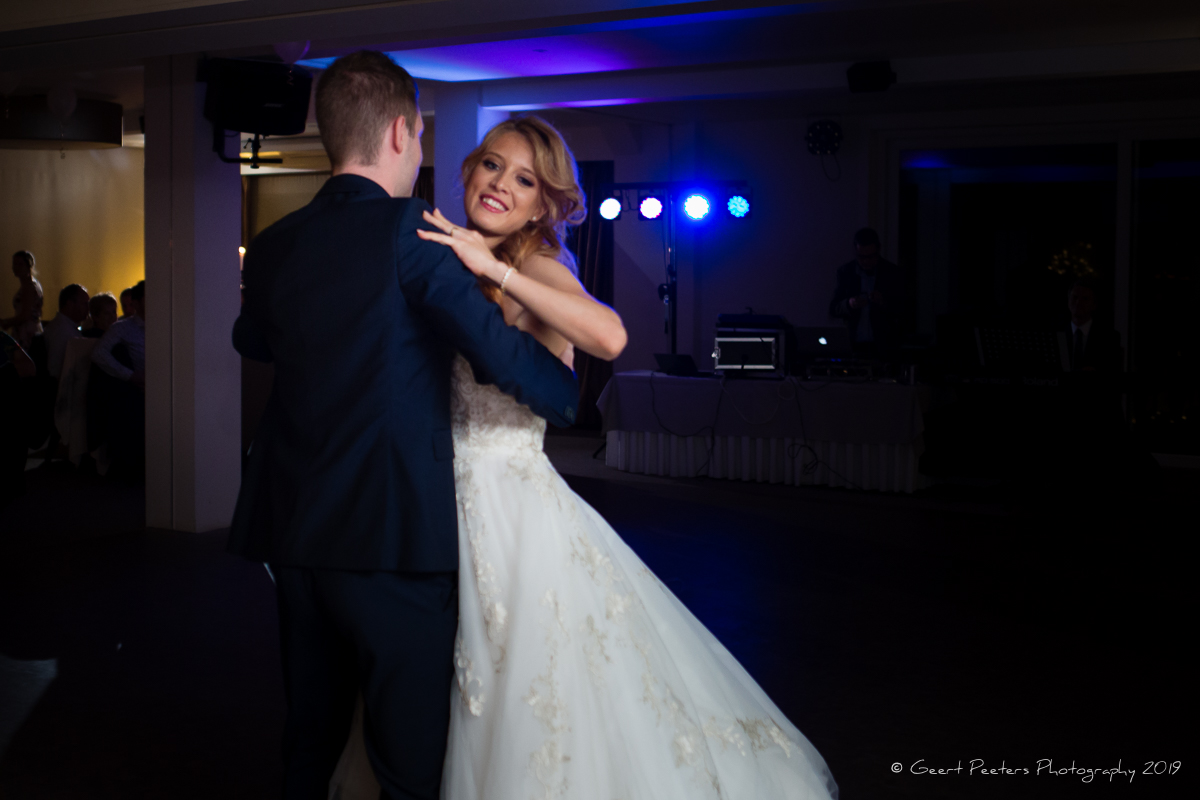 opningsdans bruid en bruidegom trouw