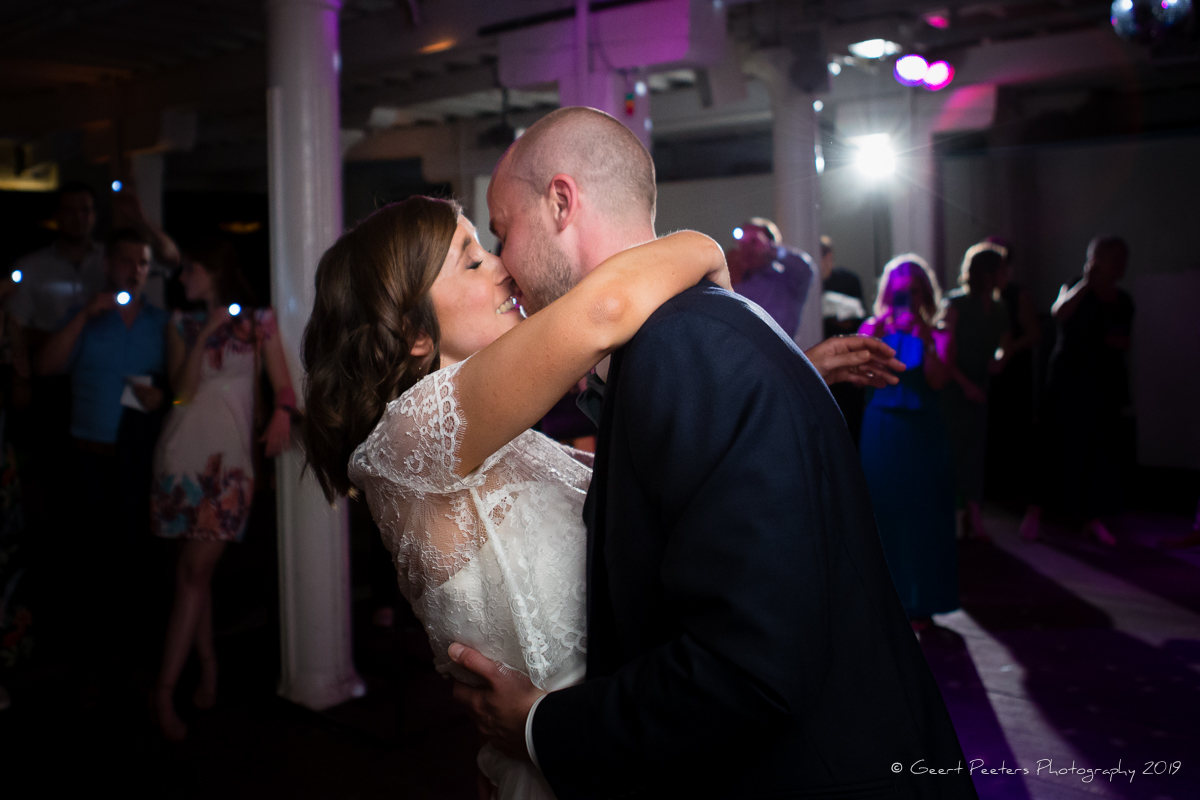 openingsdans bruid en bruidegom Felix pakhuis Antwerpen