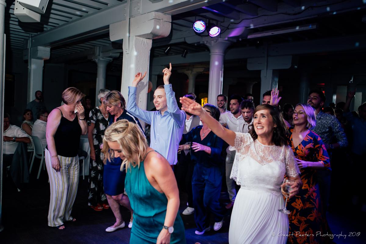 dansen trouwfeest Felix pakhuis Antwerpen