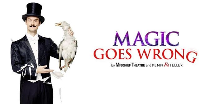 We are wishing the best of luck to @mischiefcomedy for going into tech on @magicgoeswrong  Co-created with @pennandtellerlive. It's been great fun creating custom props and illusions for this one and it should be a brilliant show.  Fun fact, a decade ago when our MD used to run a circus theatre company, we drove their set to Edinburgh for the fringe. #smallworld  #magicgoeswrong #mischieftheatre #pennandteller #magic #theatre #comedy #illusions #props #puppets #magictricks #illusionbuilders #stagemagic #propmakers #leviathanworkshop #whatcanwemakeforyou