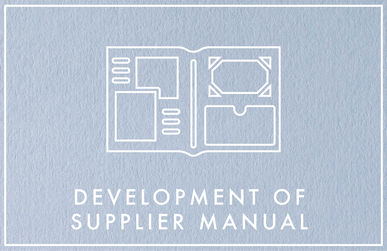 Fashion Delivered Development of supplier manual