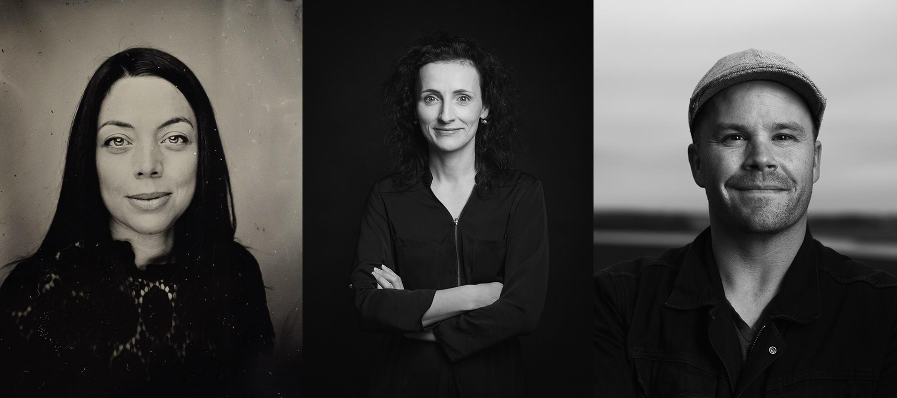 Elena Bazini, Erin Brosha, Dave Brosha