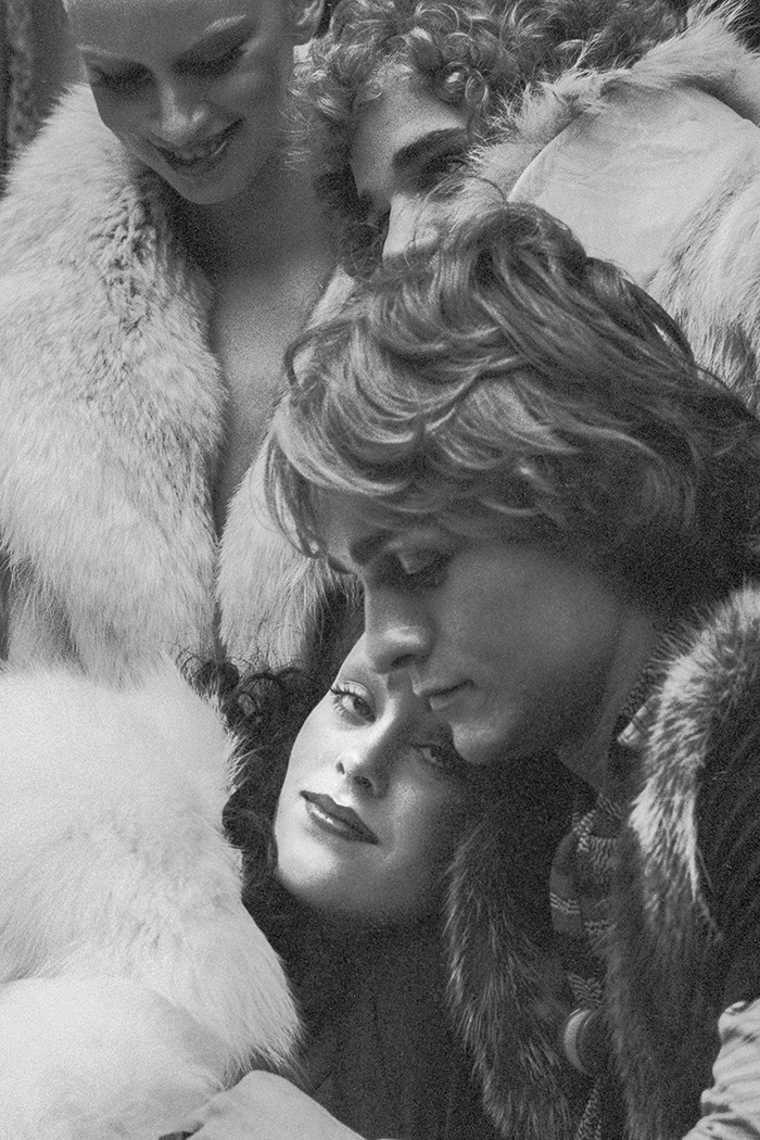 Dona Jordan, Jane Forth en tournage du film Beauties