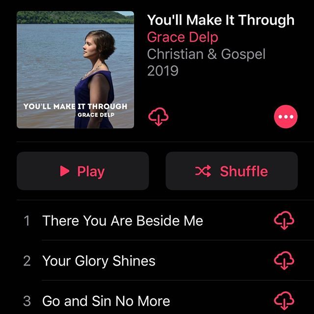 Apple Music folks—this album by my friend @graceengledelp is full of deep beautiful songs and also helps her family fill the 9ft sinkhole in her backyard. Listen to good music for a great cause. ❤️