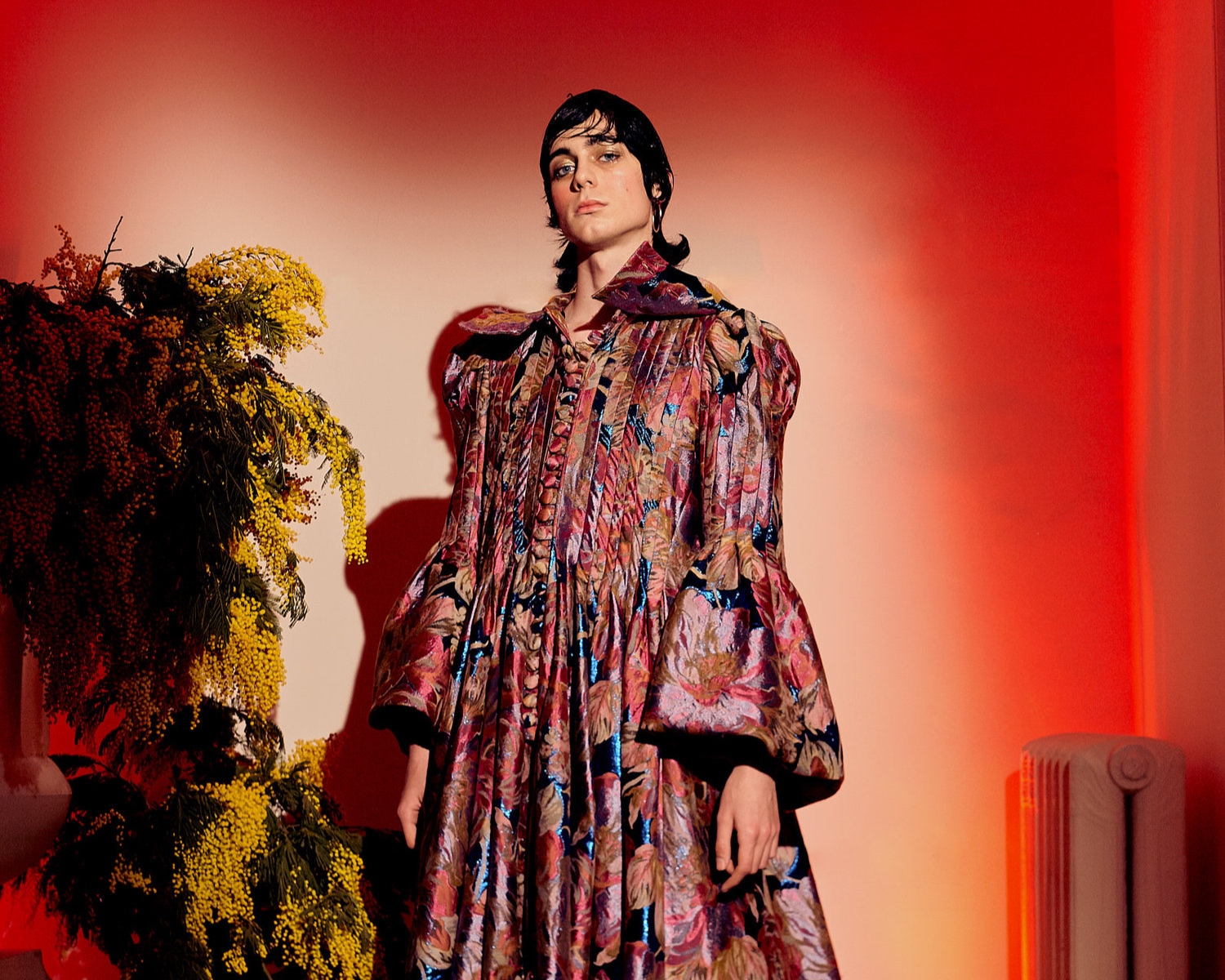 Spanish Designer Brand Palomo Takes A Fresh Approach On Gender Neutral Fashion At 2019 Ny Fashion Week Gender Jelly Gender Fluid Innovations