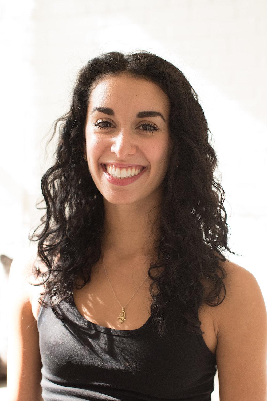 Alex Gallo, yoga instructor