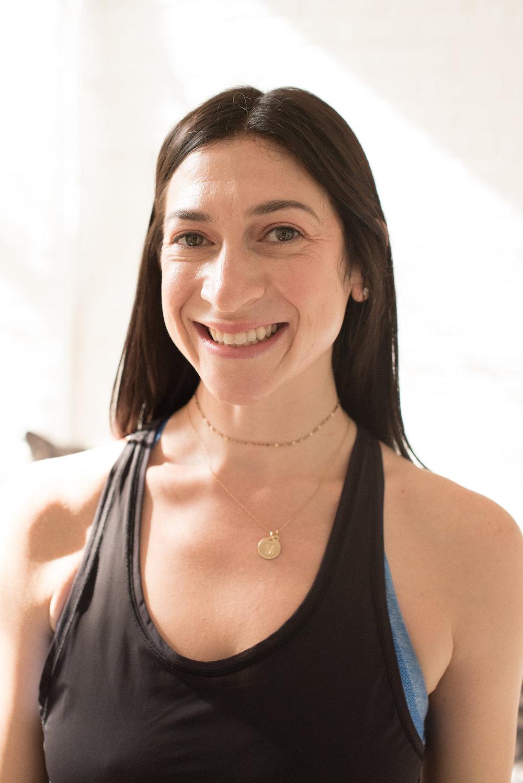 Melissa Green, yoga instructor
