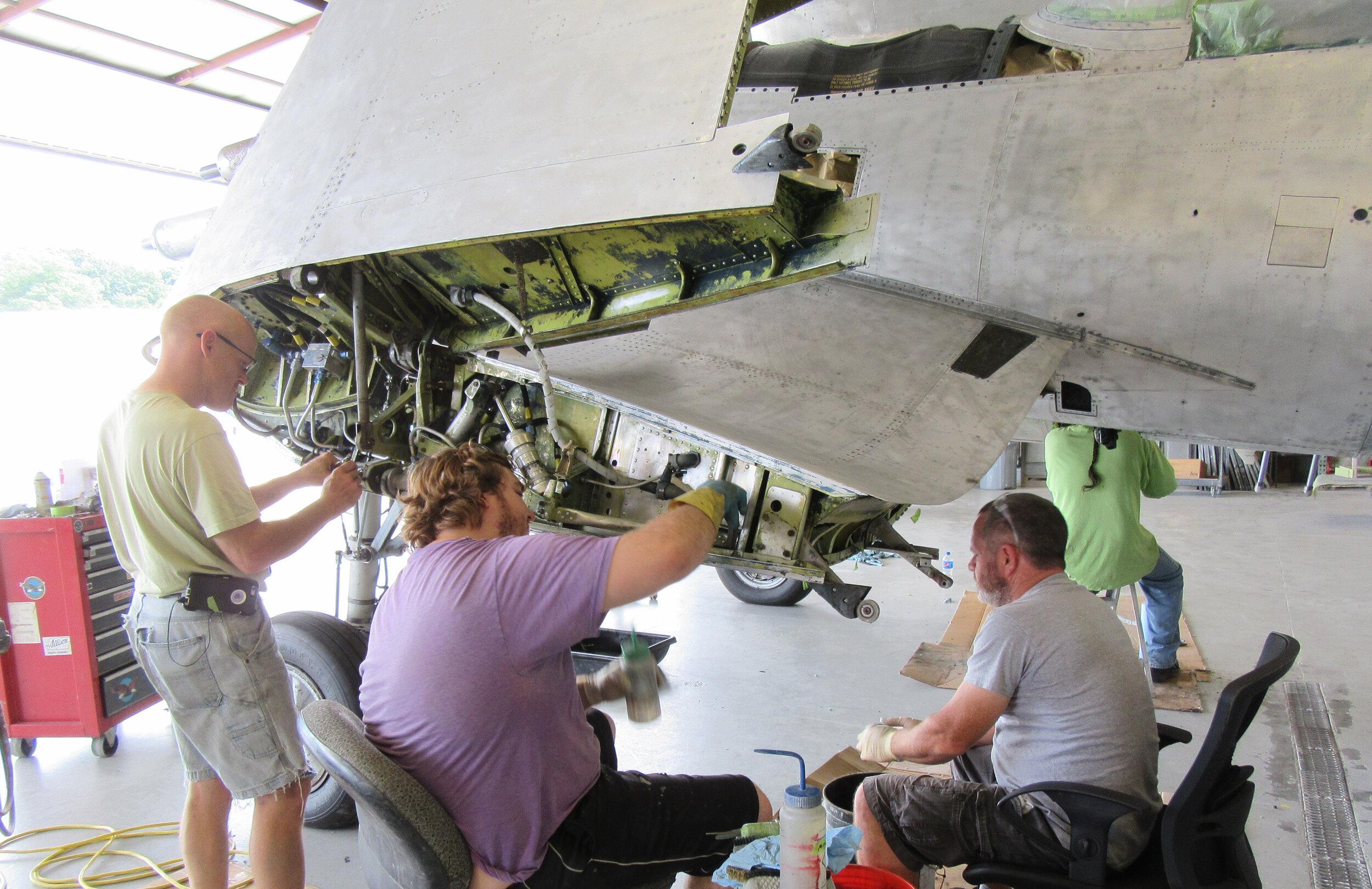 2. Surface Prep - A. UnmaskB. Surface Prep- Wings- Fuselage- Landing Gear- Parts- ControlsC. BodyworkD. Wash