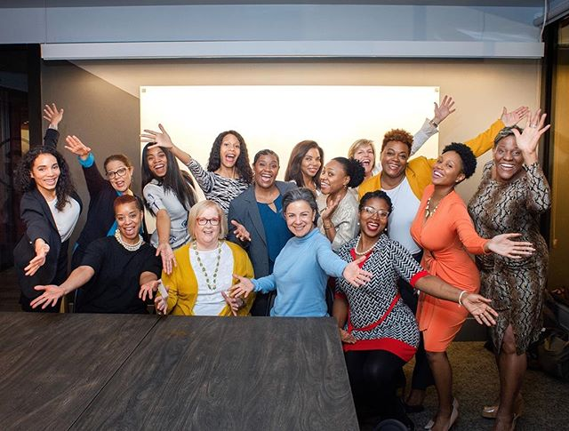 The last #WomensPowerDINE was a success! 🍽 Invest in yourself by attending the upcoming workshop at WeWork Galleria. This session will include dinner, cocktails, and one of my favorite workshops #STANDorSHIFT [Link in Bio] 📲