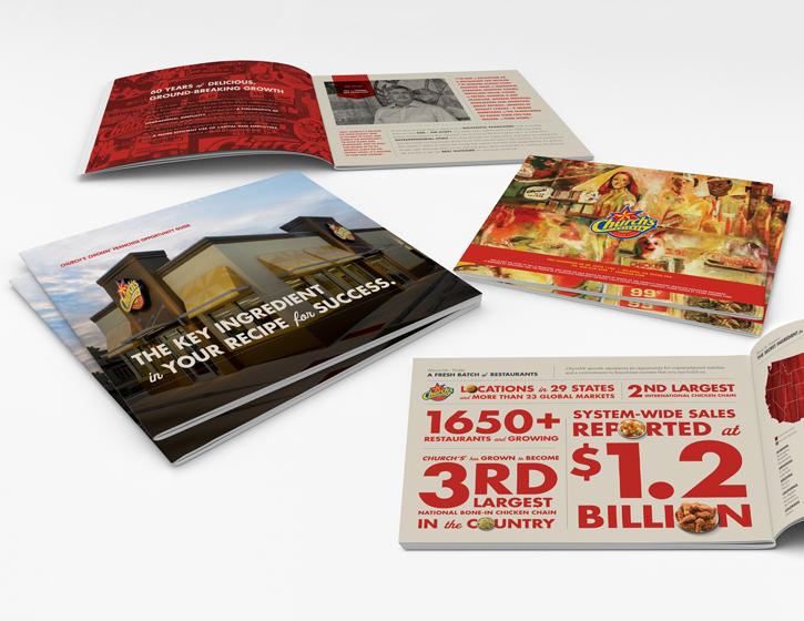 CHURCH'S CHICKEN - Franchise Development Brochure