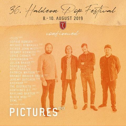 Wir spielen dieses Jahr auf einem der schönsten Festivals überhaupt, dem @haldernpop HURRA! #haldernpop #festival #summertime #yeah #whoopwhoop