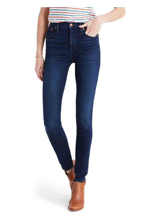 Madewell Highrise Skinny Jeans