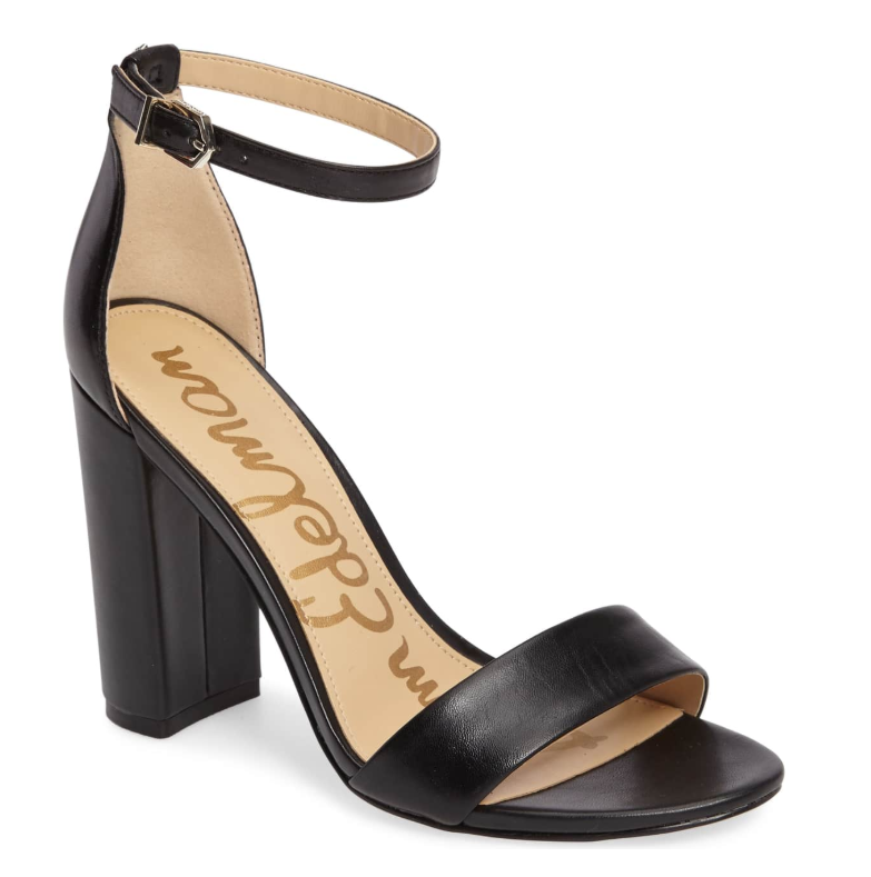 Sam Edelman Yaro Ankle Strap Heel