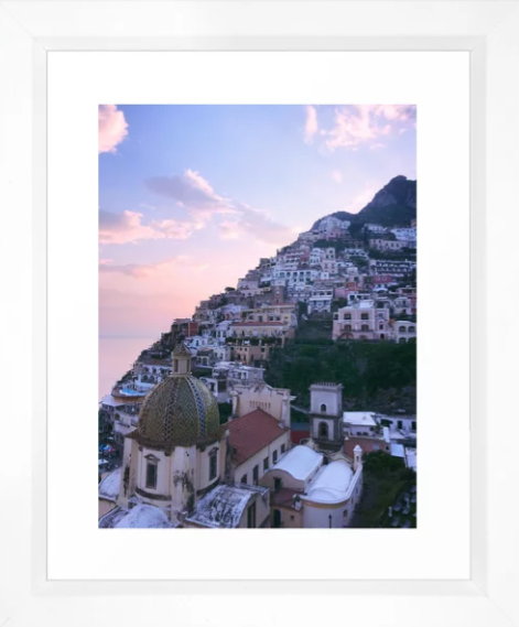 Amalfi Coast Sunset -