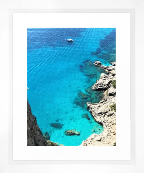 Blue Waters of Capri -