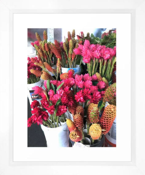 Hawaii Farmers Market Flowers -