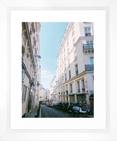 Paris City Street -