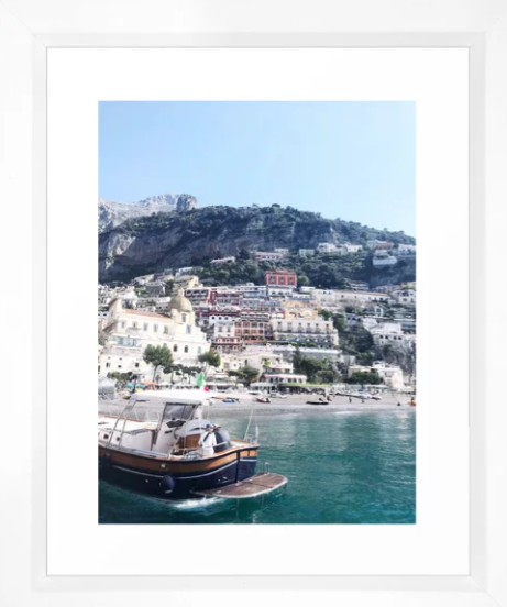 Positano from the Water -