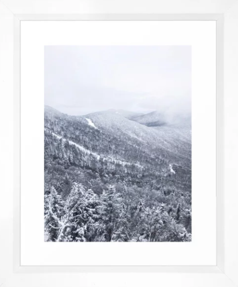 Vermont Winter Mountains -