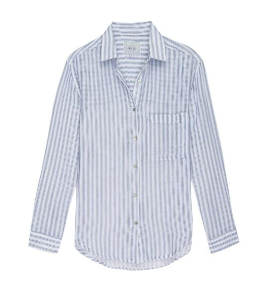 Rails Ellis Lagoon Stripe Shirt