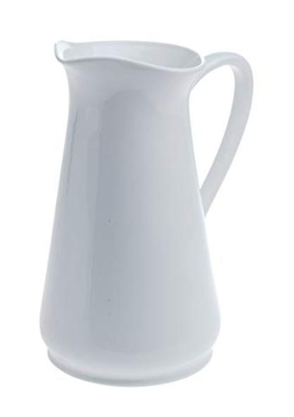 Denmark - White Porcelain Pitcher 94 ounce 2.8 Liter