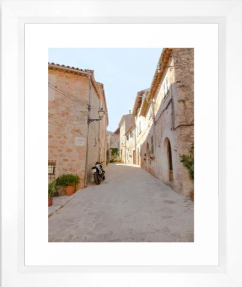 Sunny Alley in Mallorca, Spain -