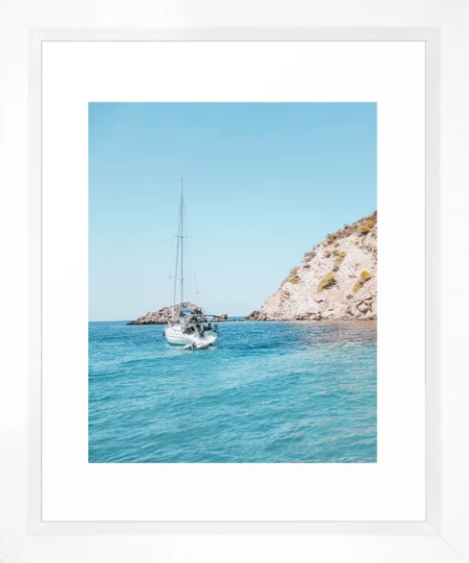 Sailboat in Mallorca, Spain -
