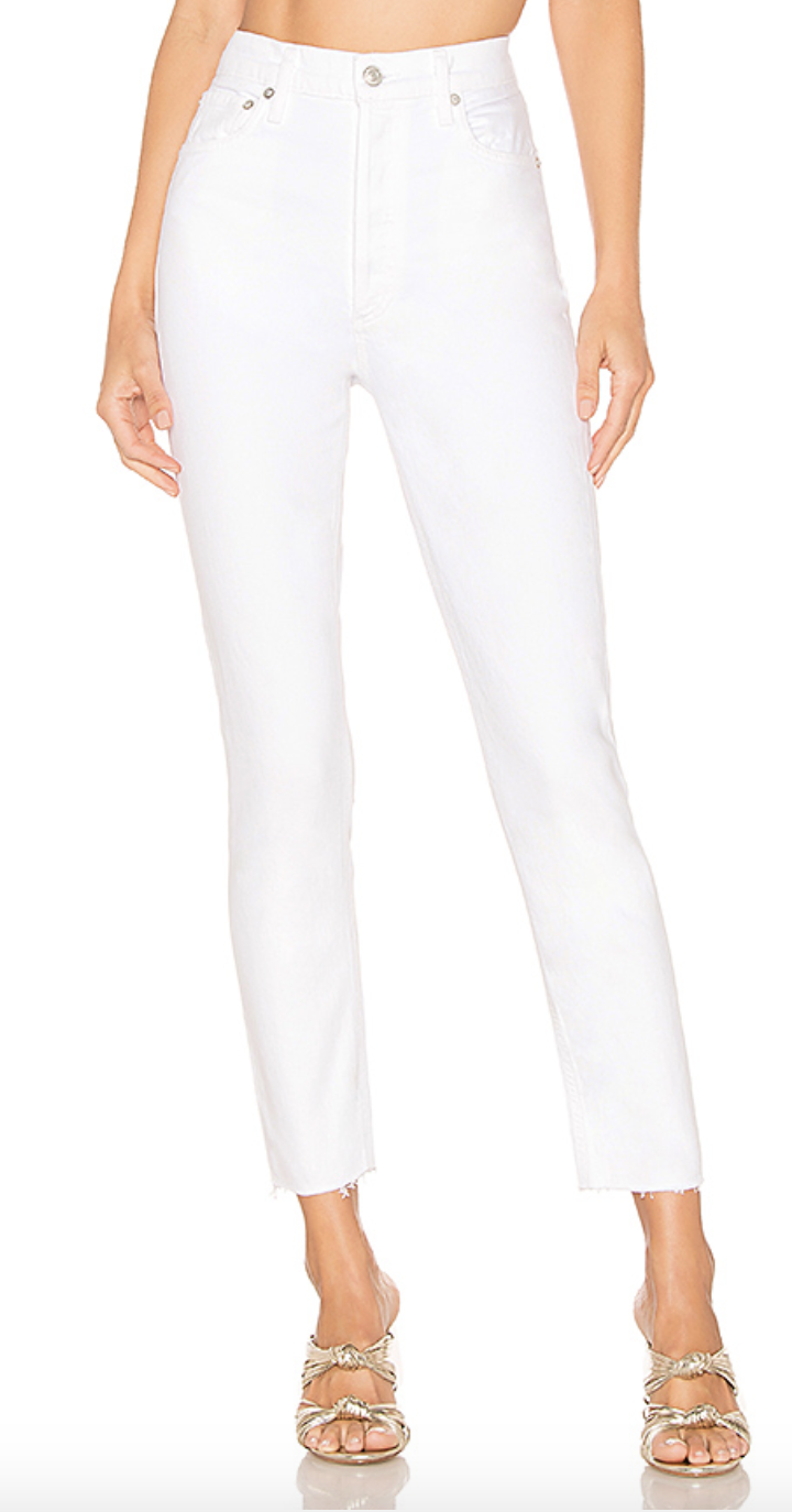 AGOLDE High Rise Skinny Jeans
