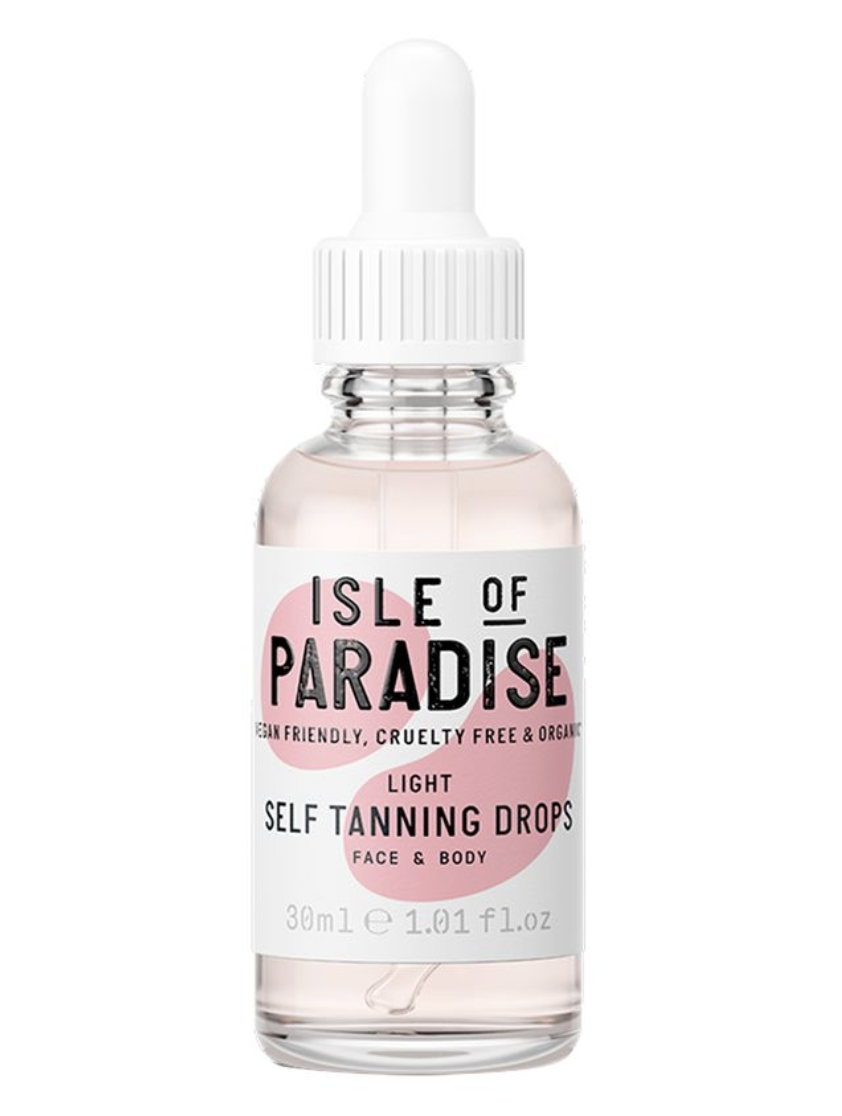 Isle of Paradise Self Tanning Drops Light - Sun Kissed Glow