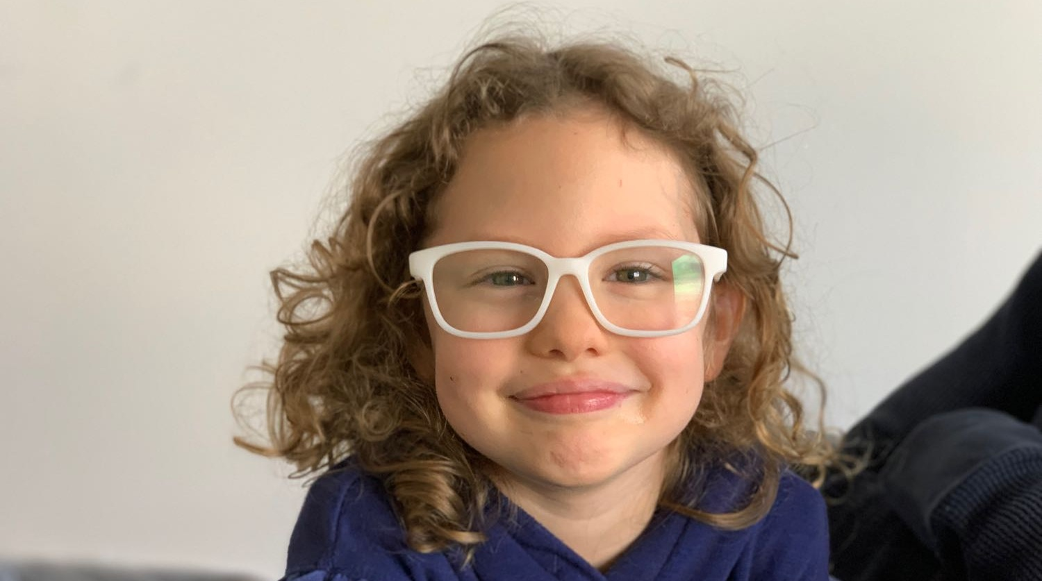 "It's so fun and easy! - ""After visiting several stores and spending over $300 on my 5 year-old's glasses, they still didn't fit her face properly. With Fitz, we got glasses that were the perfect fit and also saved us a lot of time and money.""- Rachel"