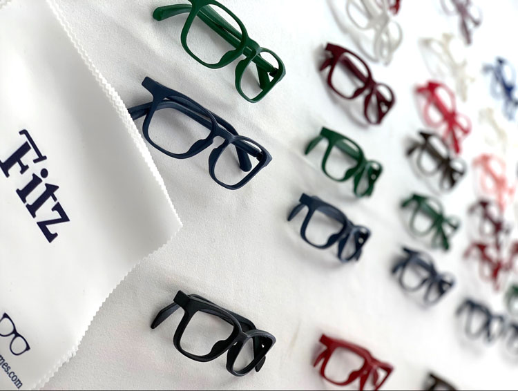 An illustration of new glasses