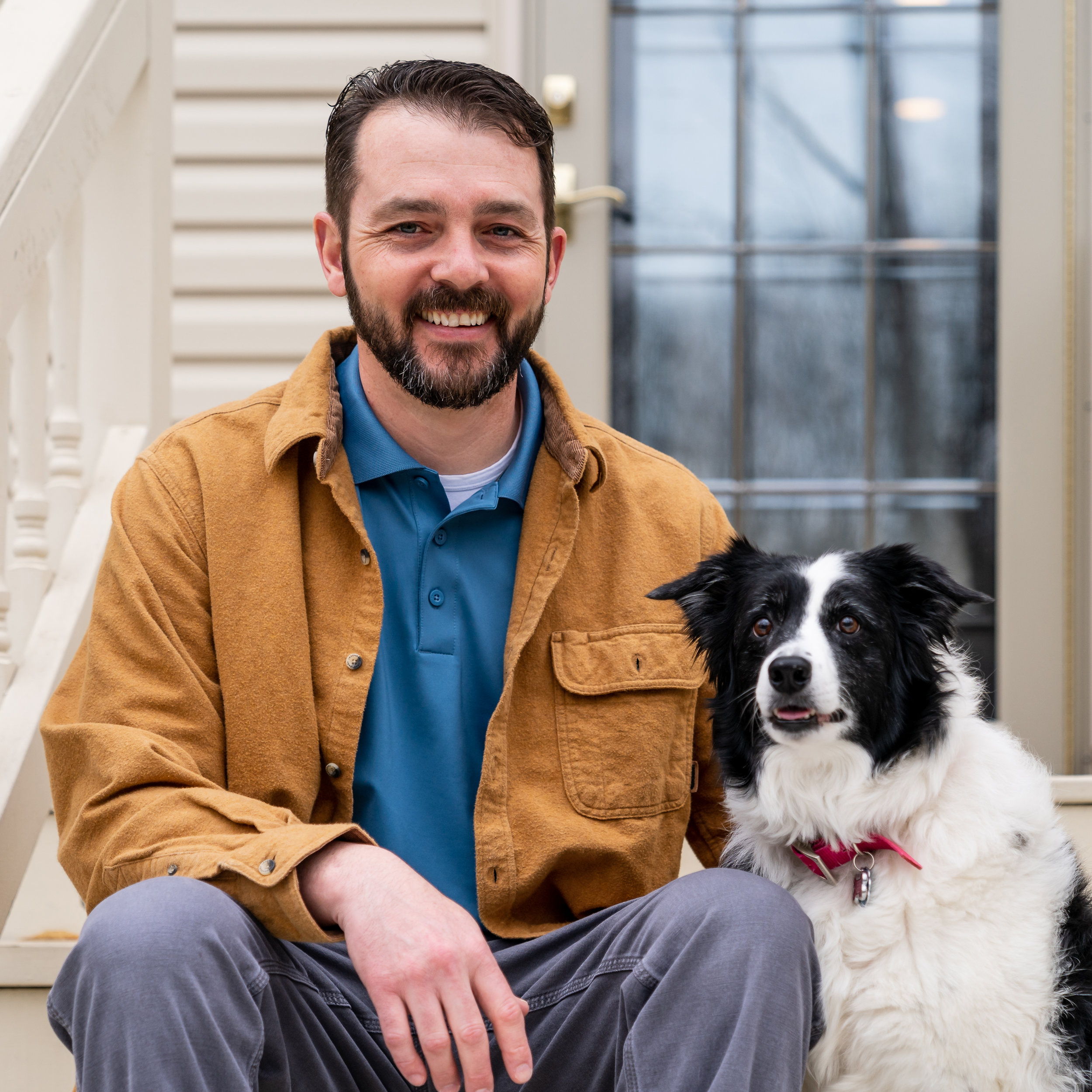 Trustworthy contractor in Pilesgrove, NJ | Gary Bell and his pup