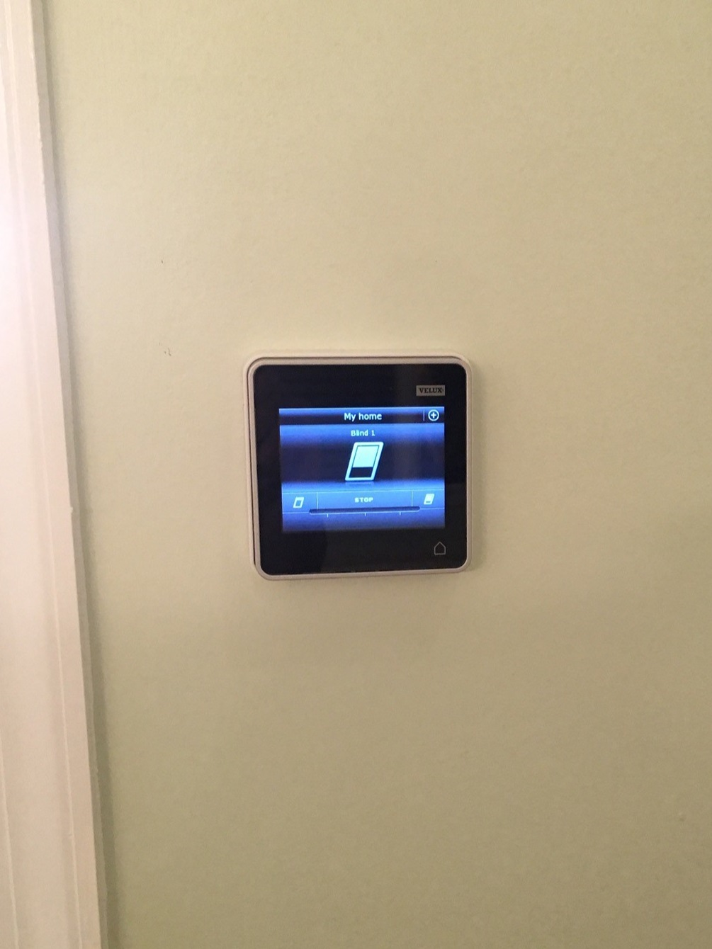 Skylight blind remote control