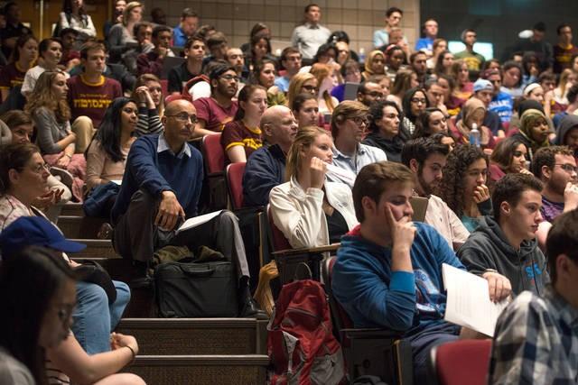 UMN Student Association Forum, 2016