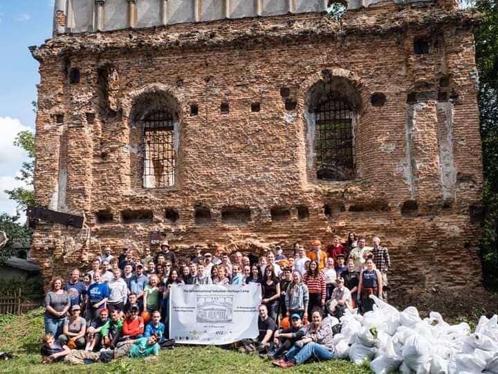 ...and after - An amazing group of volunteers—and an impressive number of filled trashbags.