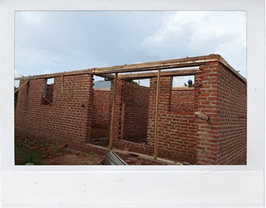 The kitchen Uganda Global Experience participants will help finish
