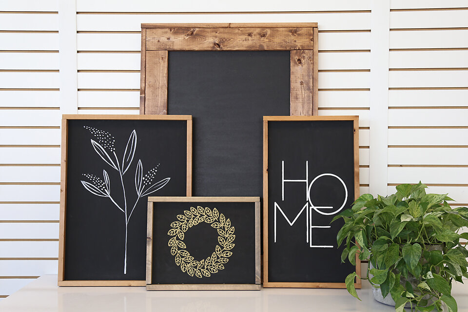 Modern Hand Painted Signs