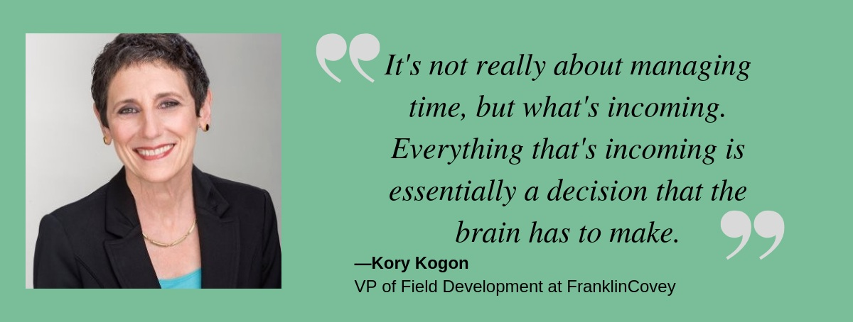 Talent Champions be more productive with Kory Kogon